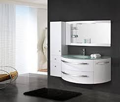 luxus4home design badmöbel set côte d azur weiß hochglanz