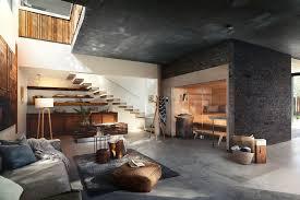 die sauna wird statt im keller in den wohnraum integriert