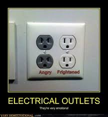 Tech Humor Electrical Outlets