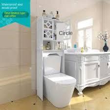 wasserdicht wc wc regal boden zu decke bad wc schrank hinter die top der toilette