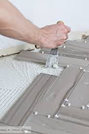 m dorsey designs how to install herringbone marble tile