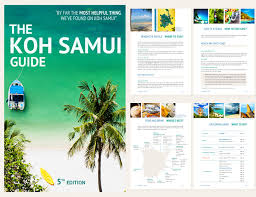 Thailand Tourism Brochure Koh Samui Guide 5th Edition Travel Out Now