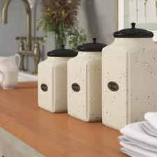 Ceramic Kitchen Canister Sets Unmissable 3 Kitchen Canister Set