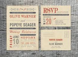 Vintage Wedding Invitation RSVP Card