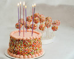 Beki Cook s Cake Blog Pink with Sprinkles Easy Birthday Cake