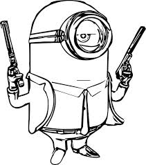 Free Printable Minion Birthday Coloring Pages Book Games Bob Nice Minions Kids