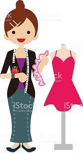 Female Fashion Designer Royalty Free Stock Vector Art Amp More Images