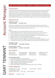 Account Manager Resumes Resume To Inspire You How Create A Good 1
