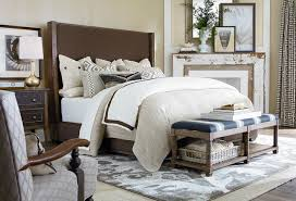 pass Upholstered by Bassett Furniture Contemporary Bedroom