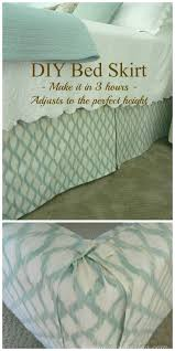 Box Pleat Bed Skirt by Best 25 Bed Skirts Ideas On Pinterest Sheets U0026 Bed Skirts