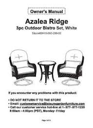 better homes and gardens azalea ridge 3 piece woven bistro set