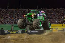100 Monster Trucks Cleveland Krysten Anderson Carries On Familys Grave Digger Legacy In