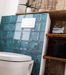 blaue fliesen im badezimmer fliesen sale kundenprojekt