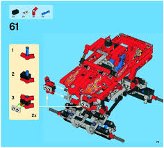 100 Lego Technic Monster Truck LEGO Instructions 42005