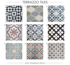 Cement Tile RoundUp Terrazzo Tiles Patterned Emily Henderson