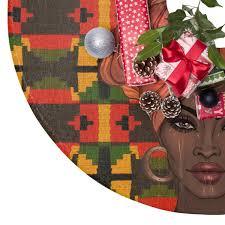 Ethnic Inspired Christmas Tree Skirt