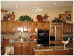 Decorating Ideas Kitchen Decor Cabinets Canada Home Above Simple