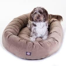 amazon com majestic pet extra large 52 bagel dog pet bed