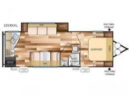 Wildwood Fifth Wheel Floor Plans Colors Wildwood X Lite Travel Trailer Rv Sales 22 Floorplans