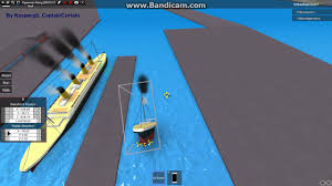 Roblox Rms Olympic Sinking by 1912 Arpil 14th Titanic Youtube