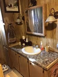 Mobile Home Renovation Professional Artist Creates Rustic Masterpiece