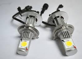 car led headlights h4 white 1800lm 1200lm high power hid hid