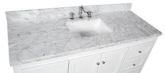 60 Inch Bathroom Vanity Single Sink by Abbey 60 Inch Single Bathroom Vanity Carrara White Includes
