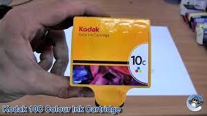 Inside Kodak 10C Colour Ink Cartridge