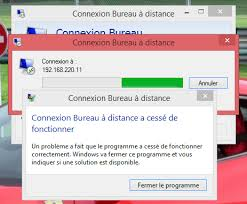 bureau a distance windows 8 windows 8 1 connexion bureau à distance ne fonctionne pas
