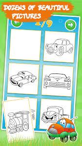 Cars Coloring Book For Kids 144 Screenshot 2