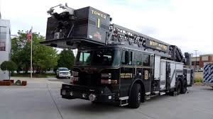 100 Black Fire Truck New Ladder For West Metro Rescue District YouTube