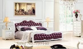 massivholz und leder bett schlafzimmer möbel barock schlafzimmer set luxus schlafzimmer möbel sets einkäufer großhandelspreis