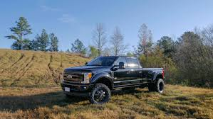 FORD BLACK WIDOW LIFTED TRUCKS — SCA Performance | Black Widow ...