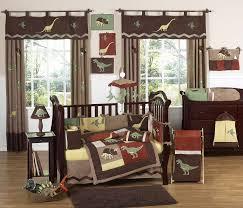 Sweet Jojo Designs Crib Bedding by Brown Dinosaur Baby Boy Crib Bedding Set 9pc Nursery Collection