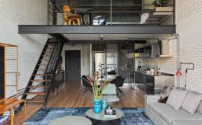 100 Modern Loft House Plans Industrial New Living Room Design With