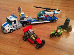 100 Lego Police Truck Featured