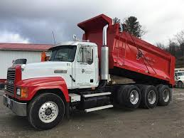 100 Tri Axle Truck 2001 Mack CH613 Dump 427HP 13 Spd For Sale