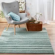 esprit kelim teppich grün aus wolle aurelia