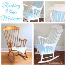 Gray Chevron Rocking Chair Cushions by Vintage Rocking Chair Makeover For A Baby Nursery Annie Sloan