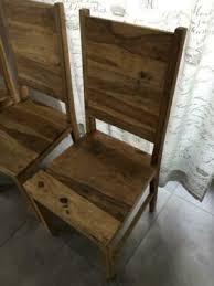 esszimmer stühle massivholz sheesham 4er set vollholz natur