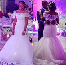 modest plus size sheer beaded neck wedding dresses for nigeria