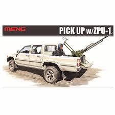 100 Plastic Truck Model Kits OHS Meng VS001 135 PICK UP WZPU1 Military