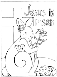 Religious Easter Coloring Pages For Preschool Archives With Resurrection Preschoolers