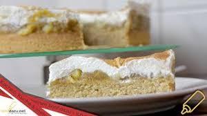 apfelmuskuchen rezept einfacher und saftiger kuchen mit apfelmus und schmandsahne