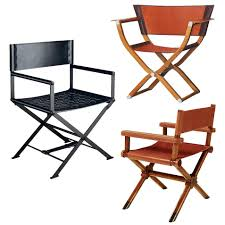 Portable Directors Chair by The Director U0027s Chair Gets A Luxe Upgrade Wsj