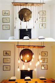 Rustic Wood Chandelier 17 Pendant Lights Light