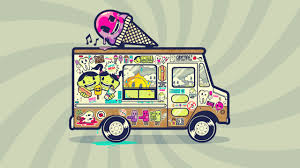 100 Lowrider Ice Cream Truck Wallpaper 43