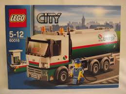 100 Lego City Tanker Truck LEGO 60016 Tank Lorry Unopened Real Yahoo Auction Salling