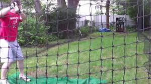 Backyard Batting Cage - Brendan Donahue: Quincy Maggots - YouTube How Much Do Batting Cages Cost On Deck Sports Blog Artificial Turf Grass Cage Project Tuffgrass 916 741 Nets Basement Omaha Ne Custom Residential Backyard Sportprosusa Outdoor Batting Cage Design By Kodiak Nets Jugs Smball Net Packages Bbsb Home Decor Awesome Build Diy Youtube Building A Home Hit At Details About Back Yard Nylon Baseball Photo