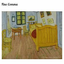 schlafzimmer in arles version by vincent gogh handgemalte ölgemälde replik wandkunst leinwand gemälde repro
